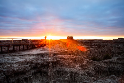 Sunrise | Badlands National Park | South Dakota