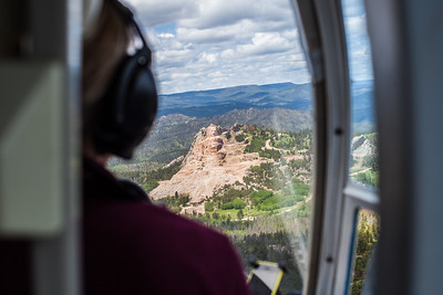 Crazy Horse Memorial | June 2015 | Aerial View