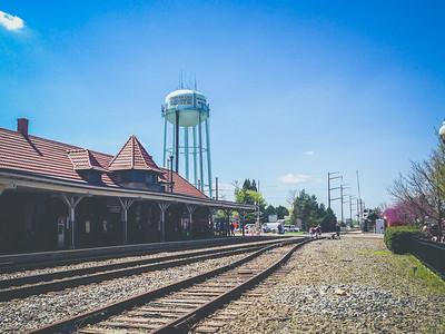 iPhone5 Photo | 2015 | Old Town Manassas Train Station, Virginia