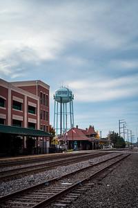 Old Town Manassas Train Depot // 2015 // Manassas, Virginia