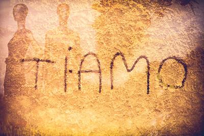 """""""Ti Amo"""" - Castellammare del Golfo, Sicily"""