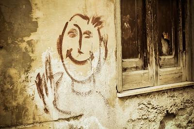 """Smile Graffiti"""