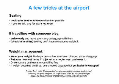 7  Airport Tips