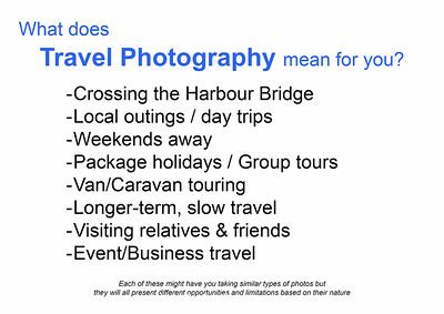 1  What is travel photography