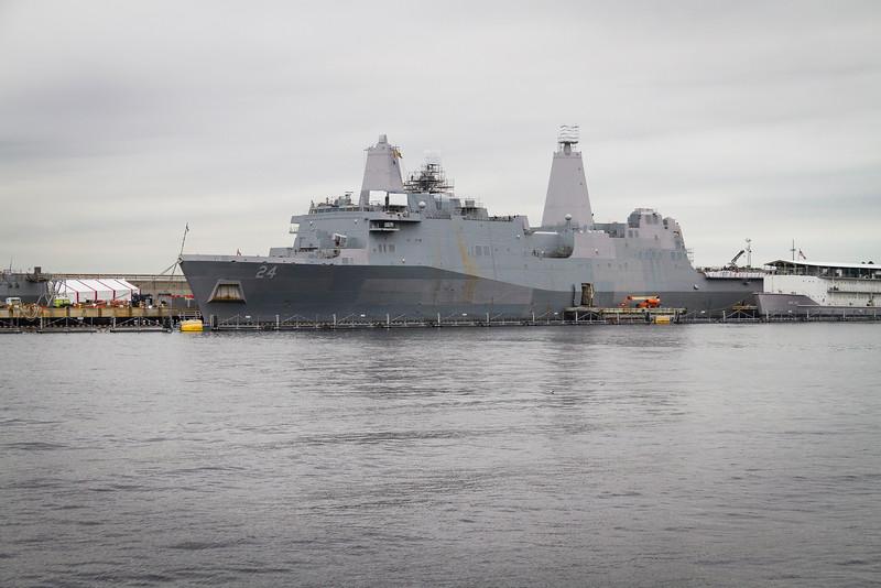 Naval Yard in Norfolk, Virgina