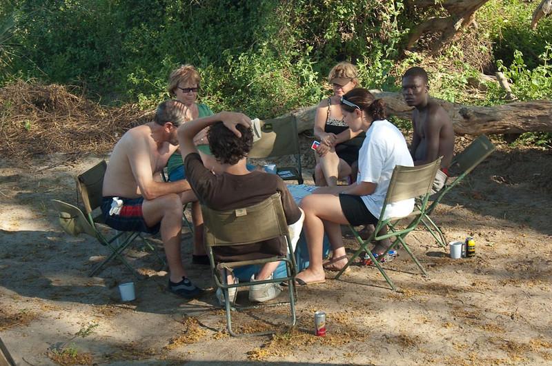Walking in the Okavanga Delta-6