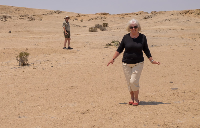 Red Shoes in the Desert