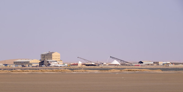 Salt Processing Plant. Walvis Bay