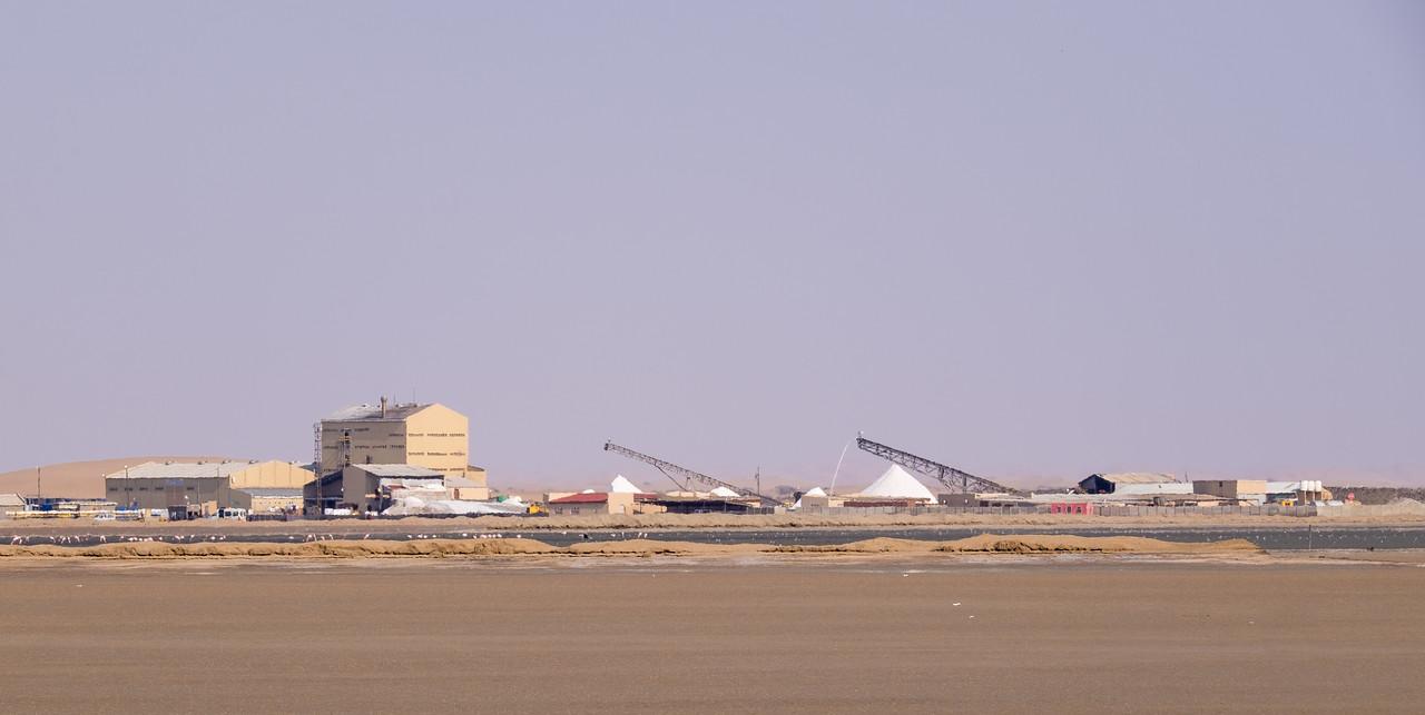 Salt Processing Plant. Walvis Bay