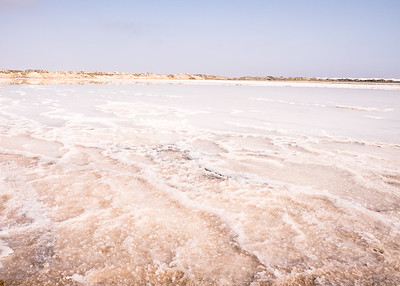 Salt pans. Walvis Bay