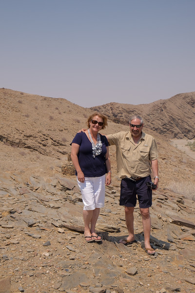 Dirk and Aletta, our friends and guides