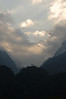 Portal Peaks from Nyabitaba Hut