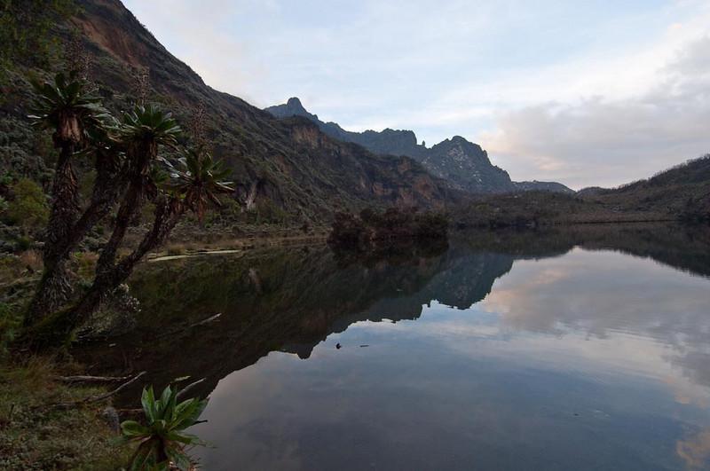 Kitandara Lake, part of the Congo watershed
