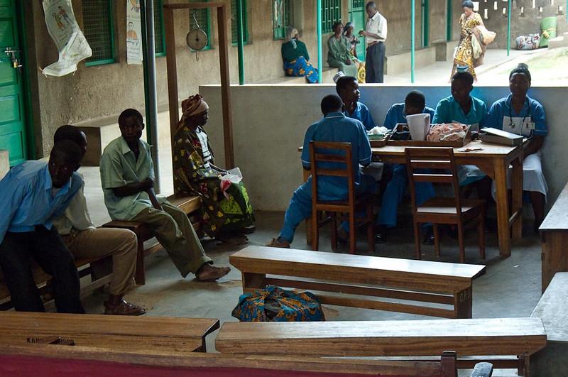 Kaganda Hospital Waiting Room