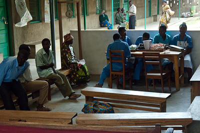 Kaganda Hospital Waiting Room