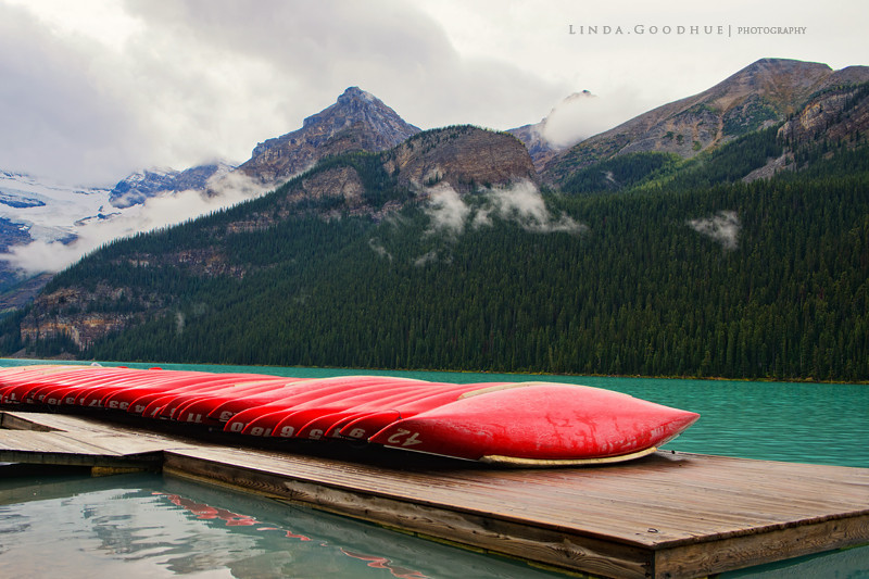 Lake Louise in Autumn