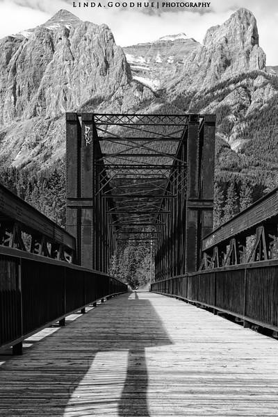 Canmore Trail bridge