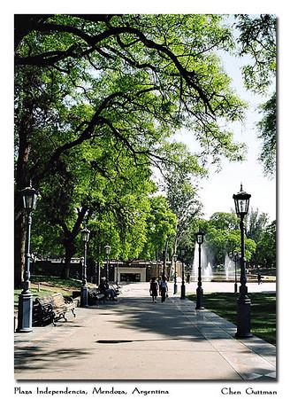 Plaza Independencia, Mendoza