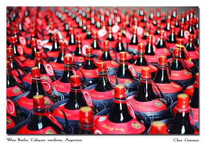 Wine Bottles, in one of Cafayate's wineries...