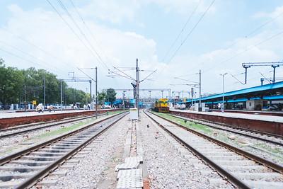Life at the train tracks