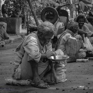Beggar, Calcutta