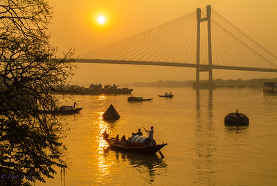Hooghly River. Calcutta
