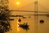 Hooghly River. Calcutta