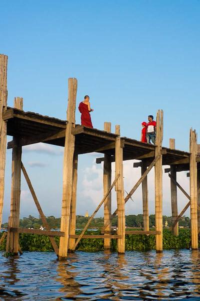 Amarapura - Teak Bridge