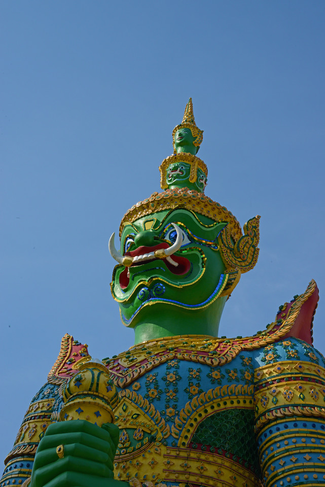 Green Demon Guardian - Wat Arun