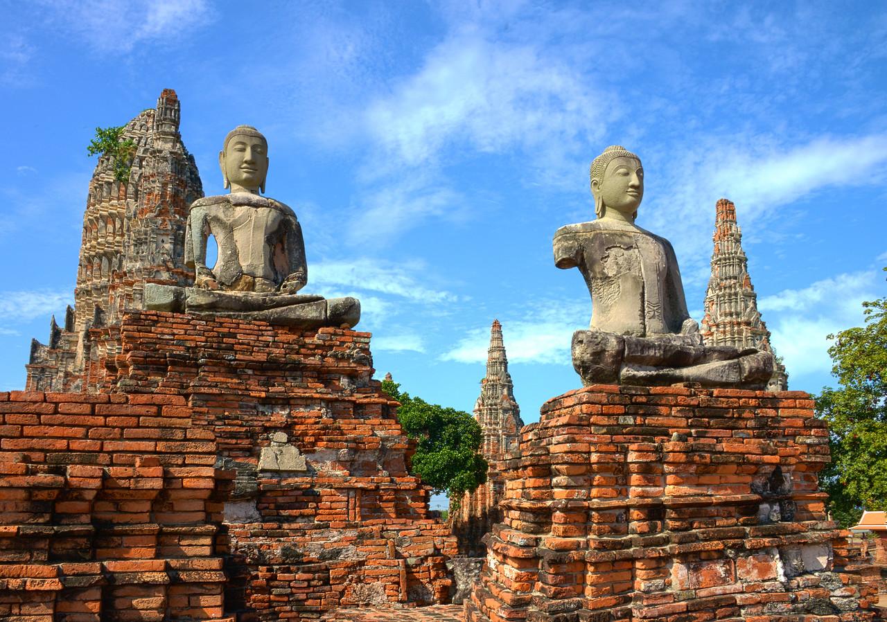 Buddhism Temples - Ayuthaya, Thailand