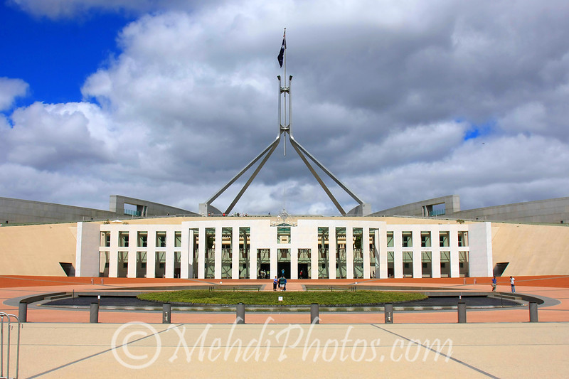 Canberra, Parliament House, February 2010.