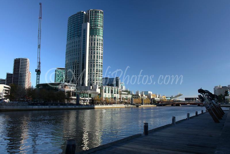 Melbourne, Yarra River & Crown Plaza