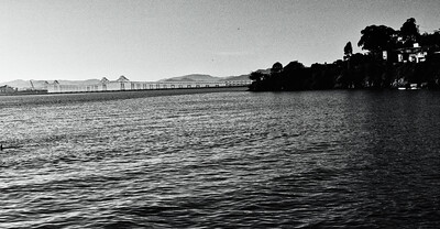 Richmond Bridge, Point Richmond, CA