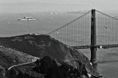 Golden Gate Bridge, Marin Headlands, CA