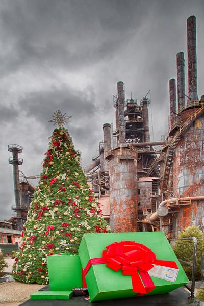 Merry Christmas at Bethelem Steel