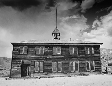 Schoolhouse, Bodie State Historic Park, CA