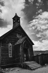 Church, Bodie State Historic Park, CA