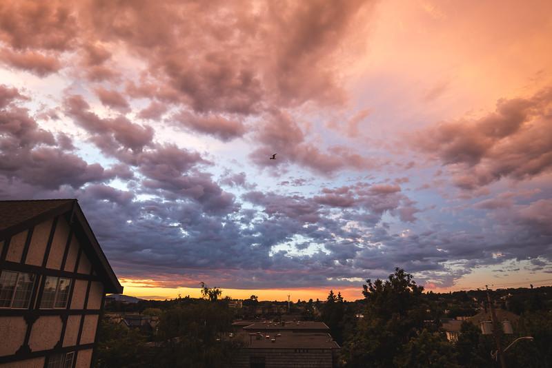 Sunset over Lancelot