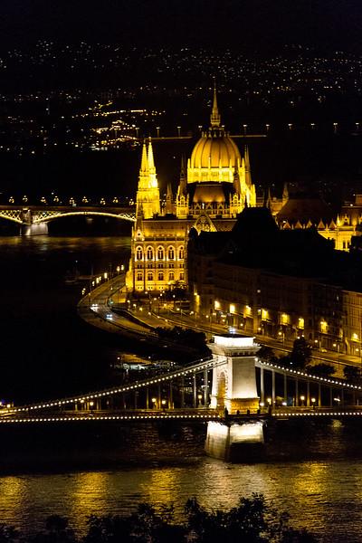Budapest at Night