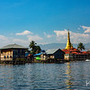 Village life along the shores of Inle Lake.