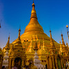 The glorious Shwedagon Pagoda in Yangon.