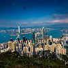 Hiking the 3-mile Peak Loop around the summit of Victoria Peak, we were treated to some jaw-dropping views of the city.