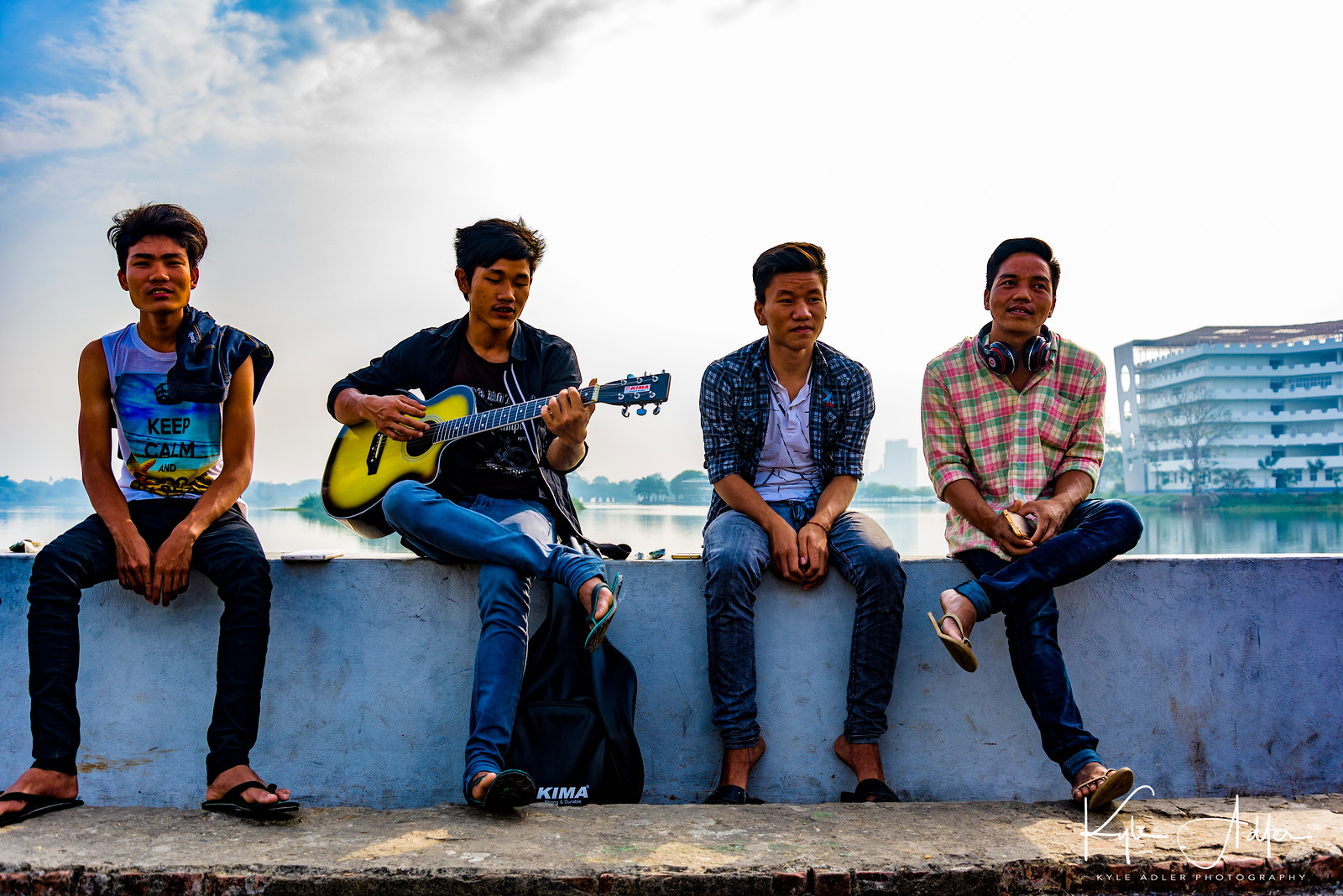 Rangoon's Inya Lake, site of the former military junta's brutal response to the 8888 uprisings and the Saffron Revolution, is now a peaceful place where young people picnic, make music, and go on dates.