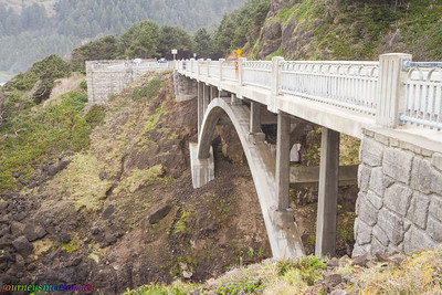 Highway 101 Bridge on the Oregon Coast