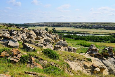 Writing on Stone Provincial Park, Alberta