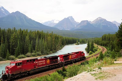 Canadian Pacific Railroad in Banff National Park