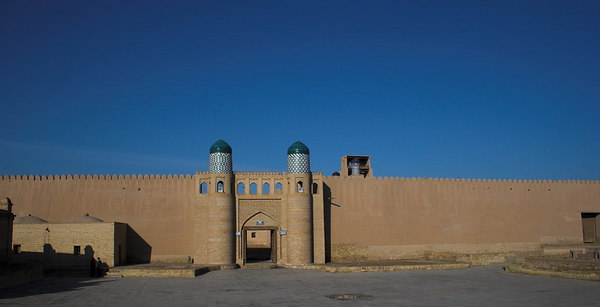 Ishan Kala Walls and Gate, Khiva, Khorezm