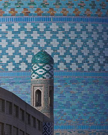 Khiva Blue Tile