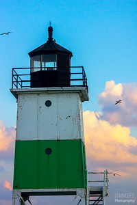 Lighthouse At The Pier