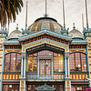 Santiago's Artequin Museum is housed in a beautiful Parisian building.